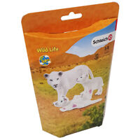 Schleich Wild Life Lion Mother with Cubs Figure Pack Collectable Animal Figures