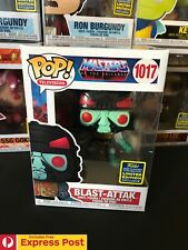 MASTERS OF THE UNIVERSE BLAST-ATTAK SDCC SHARED FUNKO POP VINYL FIGURE #1017 NEW