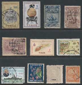 TIMOR: Small lot as per scans.