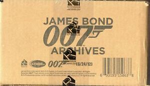 James Bond Archives 2015 Edition 12 Card Box Case Factory Sealed