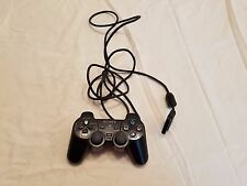 ☆ Official Playstation 2 Black DualShock Controller (SCPH-10010) Tested Works ☆