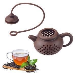 Loose Herbal Spice Infuser Filter Diffuser Tea Leaf Strainer Household Teaware