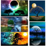 EG_ 5D DIY FULL DRILL STARRY SKY DIAMOND PAINTING CROSS STITCH KIT EMBROIDERY ST
