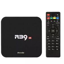 R39 Android 7.1 Smart TV BOX Quad Core RK3229 UHD 4K 8GB Mini PC WiFi Media A7P9