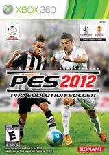 Pro Evolution Soccer 2012 Xbox 360 New Xbox 360