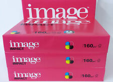 A5, A4 OR A3 IMAGE IMPACT SMOOTH WHITE PAPER OR CARD 100gsm 120gsm 160gsm 200gsm