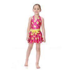 Kids Muslim Swimwear One-piece Swim Skirt Islamic Malaysia Bathing Swimsuit New