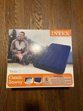 Intex Twin Classic Downy Air Mattress - Unopened!