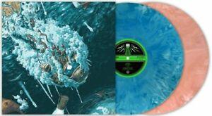 """Sleep  - Iommic Life Peach Turquoise Marble Vinyl 2X12"""" Clarity Leagues Beneath"""