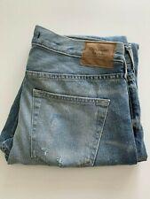 Abercrombie & Fitch para Hombre Corte Recto con aspecto envejecido Denim Jeans W 30 L 32 BNWT