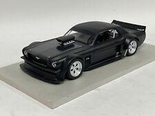 1/18  Ford Mustang Hoonigan Ken Brack Matte Black Resin Hand Build Model