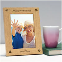 PERSONALISED Happy Mothers Day Photo Frame Gifts for Mum Mummy Nanny Nan Mam Her