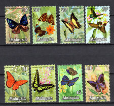 MALAYSIA 1970 HARISON PHOTOGRAPHIC BUTTERFLIES DEFINITIV COMPLETE SET MNH STAMPS