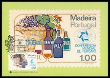 MADEIRA MK TOURISMUS WEINTRAUBE WEIN WINE GRAPE CARTE MAXIMUM CARD MC CM au37