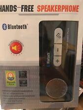Hands Free Car Speakerphone Speaker Kit Phone  Wireless Bluetooth US