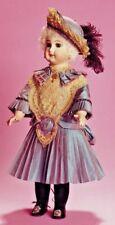 """22""""Antique Schmitt German French Doll Dress Hat Slip Underwear Pattern @ 1880S"""