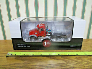 Red Mack Granite MP Engine Series Truck  By First Gear 1/50th Scale