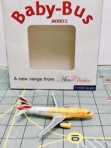"""AeroClassics 1:400 British Airways Airbus A319-131 """"Firefly"""" G-EUPC"""