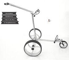 Elektro golf trolley batería de litio, acero inoxidable, Speed ge Delux Brake