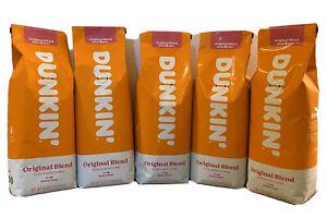 Dunkin Donuts Original Whole Coffee Bean 5 LB Exp. 08/29/2021