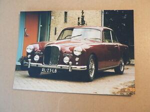 PHOTO FOTO AUTOTRON ROSMALEN ALVIS TD 21 UIT 1960 KENTEKEN RL-23-LB