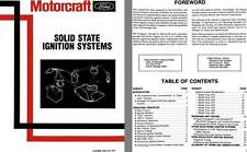 Ford Motorcraft c1975 - Motorcraft Solid State Ignition Systems