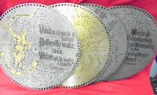 """Four Original Polyphon Music Box 15 1/2"""" Discs-One Disc """"The Belleville Waltz"""""""