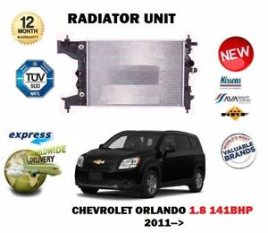 FOR CHEVROLET ORLANDO 1.8 141BHP 2011 > NEW RADIATOR UNIT FOR MANUAL MODELS