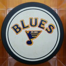 1988-90 ST. LOUIS BLUES NHL VINTAGE GENERAL TIRE SLUG ZIEGLER TRENCH GAME PUCK