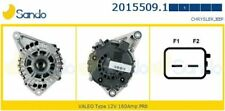ALTERNATORE JEEP COMPASS MK49 PATRIOT MK74 2.2 CRD / 160A