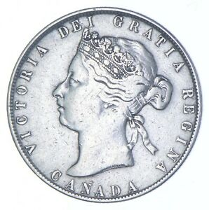 Better Date - 1870 Canada 50 Cents - SILVER *168
