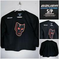 Bauer Calgary Hitmen Small Practice Jersey Black WHL CHL