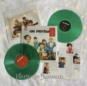 ONE DIRECTION UP ALL NIGHT RARE GREEN LP VINYL HARRY NIALL ZAYN LIAM 1D IN HAND