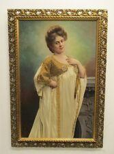 Porträt / Gründerzeit / Historismus / Ölgemälde / Gemälde / Goldrahmen /Malpappe