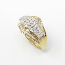 NYJEWEL 14k Solid Gold Brand New 1.5ct Classy Diamond Ring