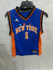 bd3ae807a Amare Stoudemire New York Knicks Blue NBA Adidas BOYS Jersey Size S (8)