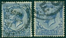 Great Britain Sg-371, Scott # 163, Used, F-Vf, 2 Stamps, Great Price!