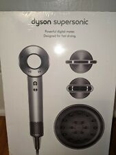 Dyson Supersonic Hair Dryer HD02 Professional Edition Nickel Silver Gray Sealed