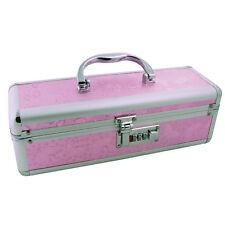 Lockable Case Adult Sex Toy Chest Storage Keyless Locking Privacy Box - Pink