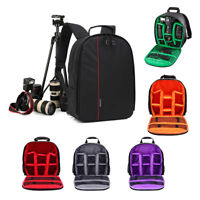 Portable Digital Camera Bag Backpack Photo SLR DSLR Case for Nikon Sony Canon