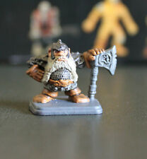 HEROQUEST figurine nain - dwarf hero miniature MB GAMES WORKSHOP original