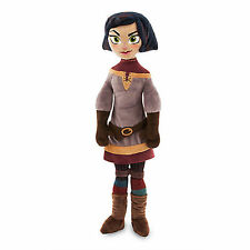 NWT Disney Store Cassandra Plush Doll Tangled the Series Medium 19'' Rapunzel