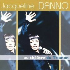 FREE US SHIP. on ANY 3+ CDs! NEW CD Jacqueline Danno: Au Theatre Du Trianon Impo