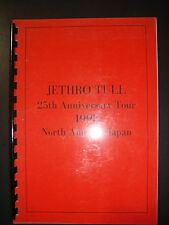 Jethro Tull Production Tour Book MAKE AN OFFER!