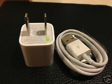 New Original OEM Apple 2g 3g 3gs 4 4g 4s Iphone Wall Charger USB Data Cable