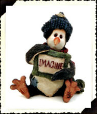 """Boyds Wee Folkstones Tuxedo Gang """"Waddle Coldfin.Imagine"""" Ornament- #25805- New"""