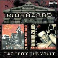 Biohazard - Urban Discipline/No Holds Barred [PA] (CD, Feb-2004, 2 Discs)
