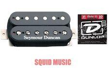 Seymour Duncan SH-2N Jazz Black Neck Guitar Pickup  ( 1 SET OF STRINGS)