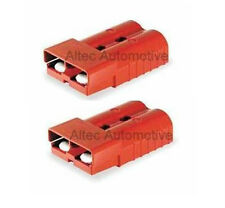 RED  175 AMP ANDERSON SB-175 POWER CONNECTOR (pair) for 35mm2 / #2 AWG cable