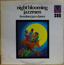 LEONARD FEATHER White Label PROMO LP Freedom Jazz Dance NIGHT BLOOMING JAZZMEN